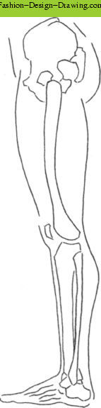Fashion Design Drawing - Fashion Design Sketches Feet Legs 1.jpg
