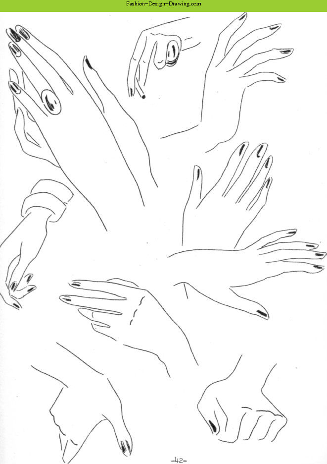 Fashion Sketches Arms And Hands Part 1